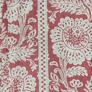 Custom Made Country Curtains Pink Toile  NEW